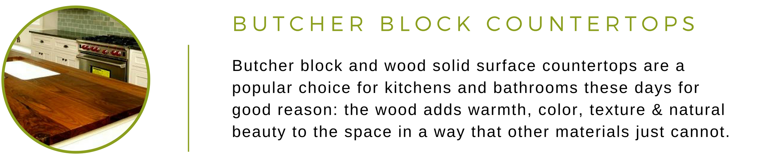 Eco-Friendly Butcher Block Counters   Greenhome Solutions