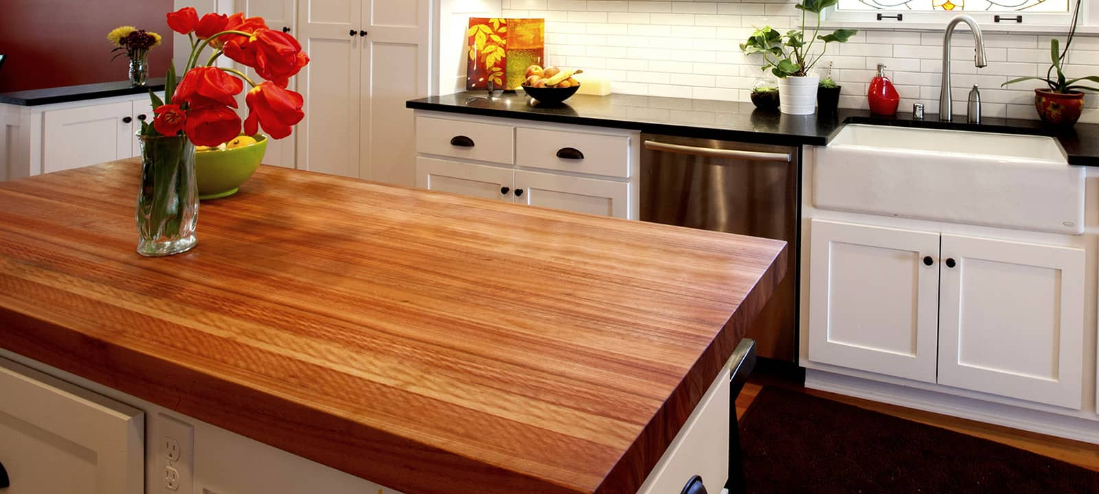 butcher block and wood solid surface countertops are a popular choice for kitchens and bathrooms these days for good reason the wood adds warmth color