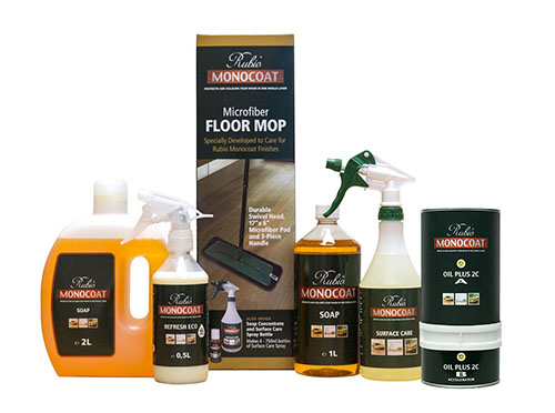 Rubio Monocoat products at Greenhome Solutions