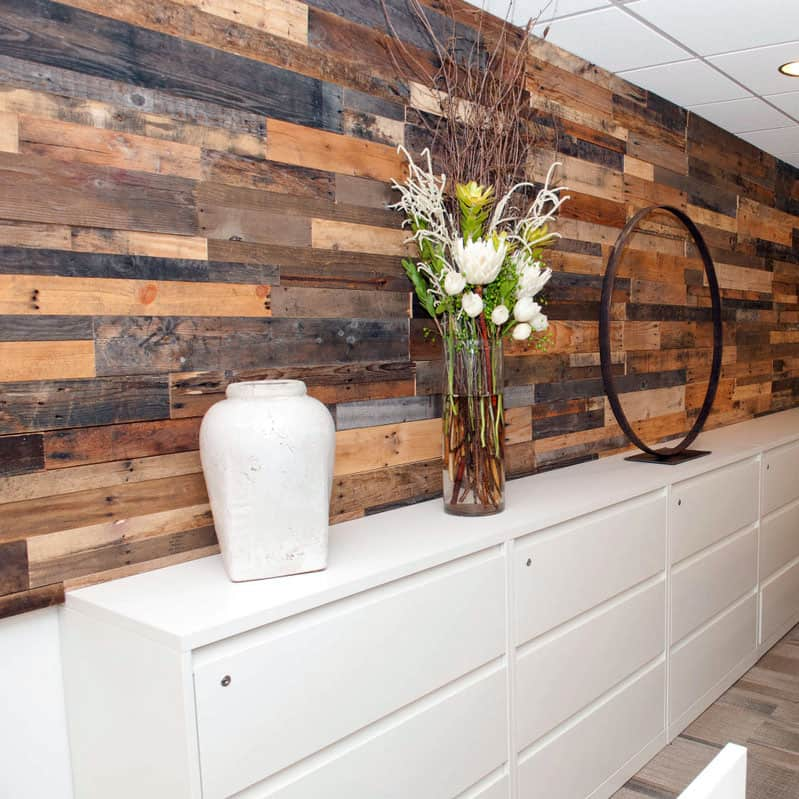 Sustainable Lumber Co. Wood Wall Panels | Reclaimed Pallet Wood ...