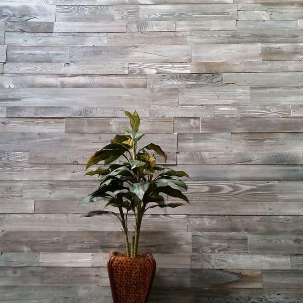 Sustainable Lumber Co Wood Wall Panels Stonewash Gray