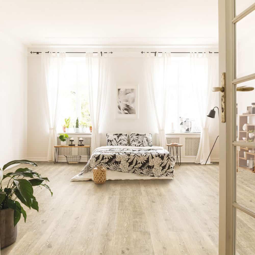 Wood Wise By Amorim 100 Waterproof Cork Flooring In Highland Oak