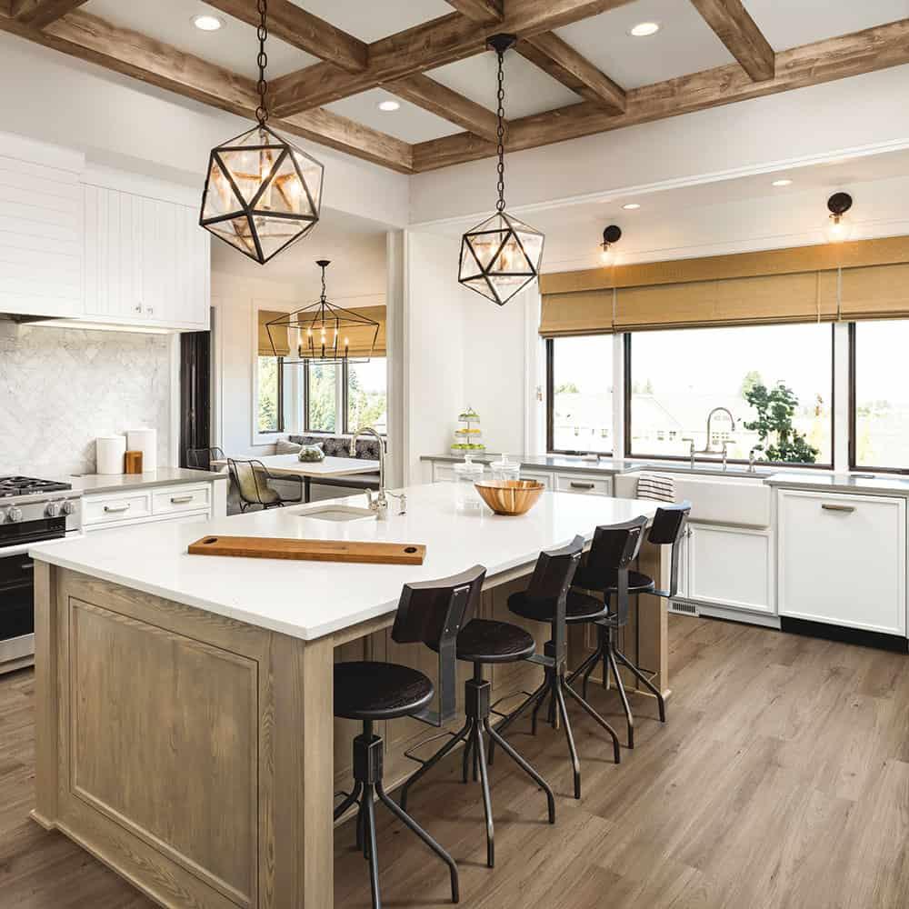 Wood Wise Amorim Waterproof Cork Flooring Quartz Oak
