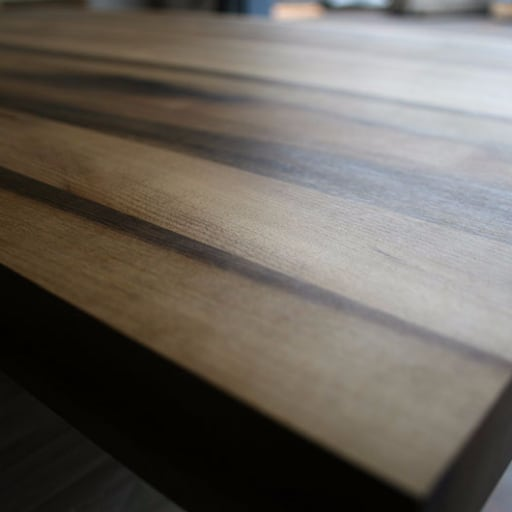 Myrtlewood / Laurel Side Grain Butcher Block Countertop   At Greenhome  Solutions
