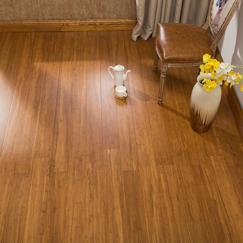 Engineered Strand Woven Bamboo Flooring: ECOfusion Engineered Woven Bamboo Flooring