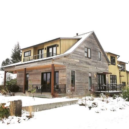 Weathered Wood Paneling Reclaimed Grey Barn Wood