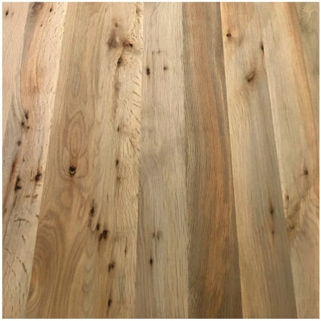 Oregon Tanoak Butcher Block Countertop - PLANK - UNFINISHED