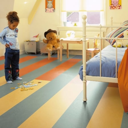 "Marmoleum Click - Floating Floor Panels  |  12"" x 36"" - CLEARANCE COLORS!  $2.99/SF"