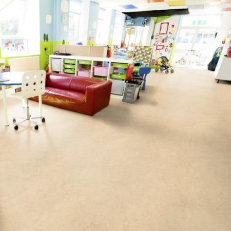 Marmoleum Composition Tile (2.0mm) - Glue Down Floor Square Tiles