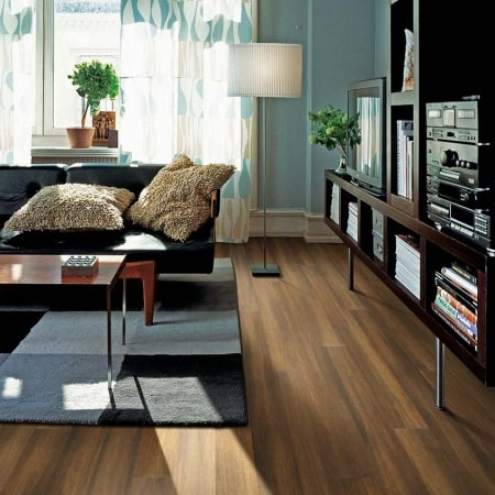 Teragren NEOTERA Xcora Wide-Plank Engineered Strand Woven Bamboo Flooring in SHERMAN