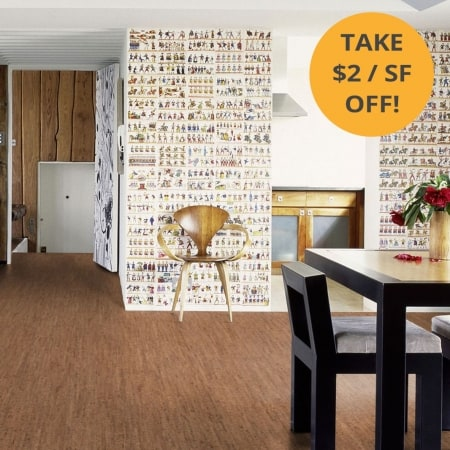 Wicanders Cork Flooring Traces Spice