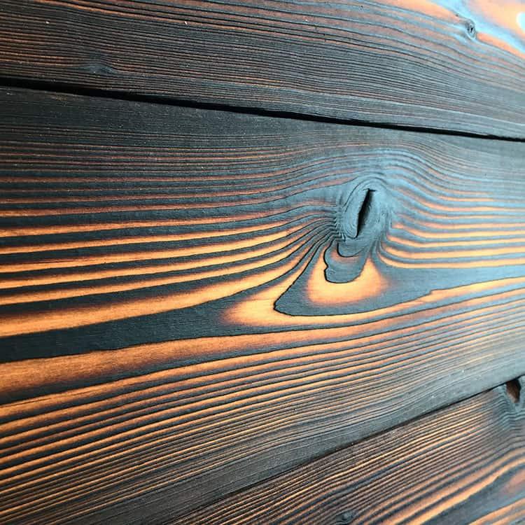 Shou Sugi Ban Charred Wood Exterior Siding Amp Interior