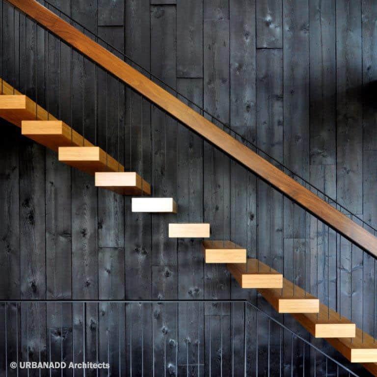 Shou Sugi Ban As Exterior Siding Image Courtesy Of Urbanadd Architects