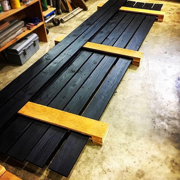 Shou Sugi Ban Charred Wood Exterior Siding Interior Paneling