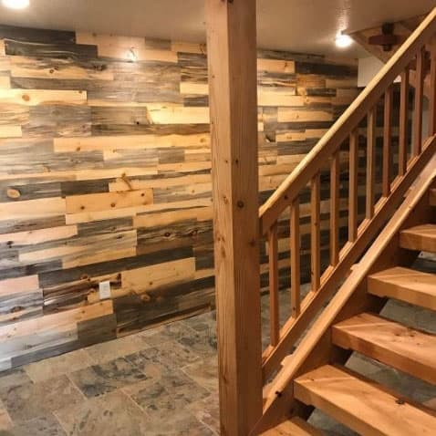 Sustainable Lumber Co Wood Wall Panels Beetle Kill Pine