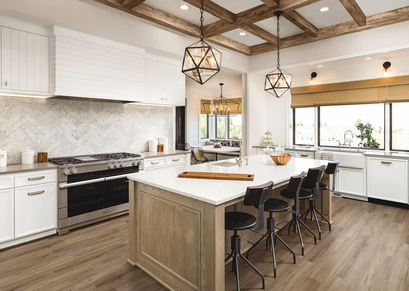 Wood Wise By Amorim 100 Waterproof Cork Flooring In Quartz Oak