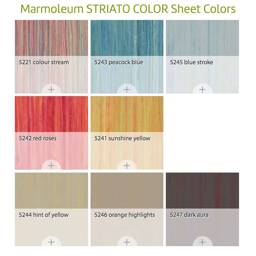 Marmoleum \'Striato\' Sheet - Glue Down Flooring: Green Building ...