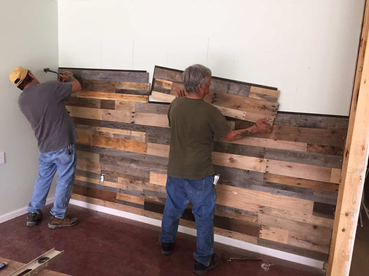 Wood Wall Panels | Reclaimed Pallet Wood - Sustainable Lumber Co. Wood Wall Panels Reclaimed Pallet Wood