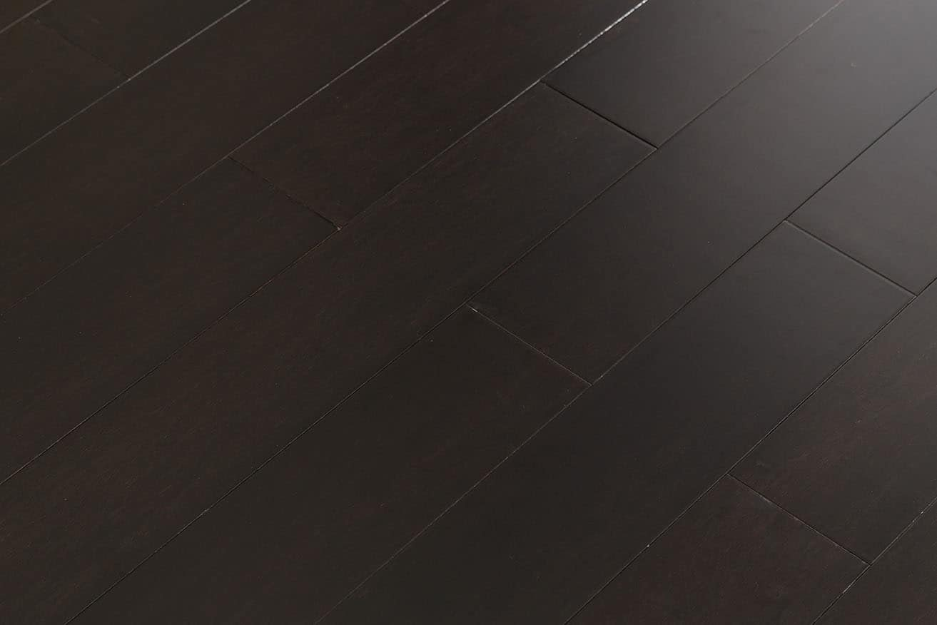 Ecofusion Solid Lock Bamboo Flooring Dark Chocolate Greenhome Solutions