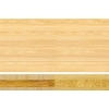 Teragren Traditional Bamboo Countertop - Vertical Grain Natural face with Wheat Strand Core