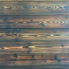 Shou Sugi Ban - burnt and brushed Doug Fir - custom-made for Greenhome Solutions