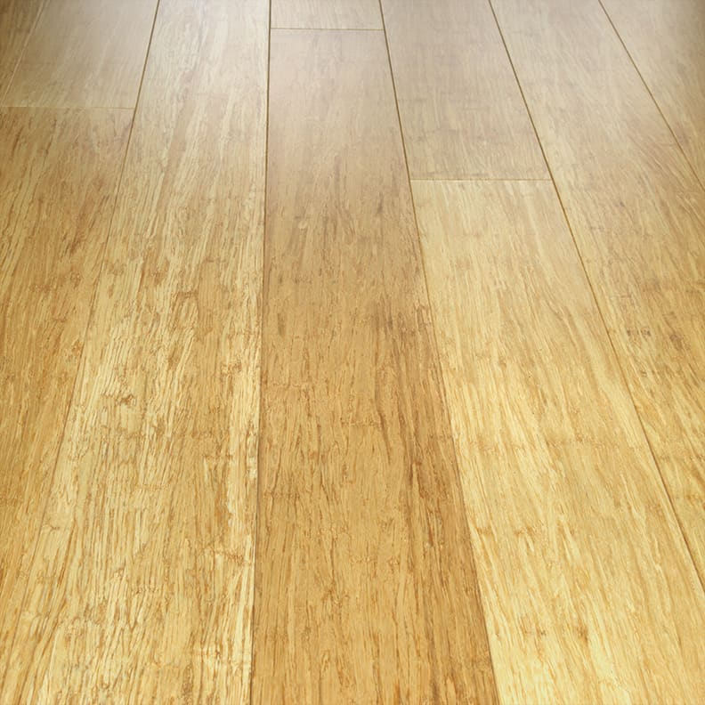 Teragren Portfolio Naturals Solid Strand Wide Plank Bamboo