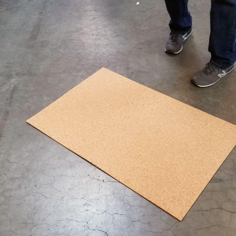 Premium Cork Underlayment Sheets 1 4