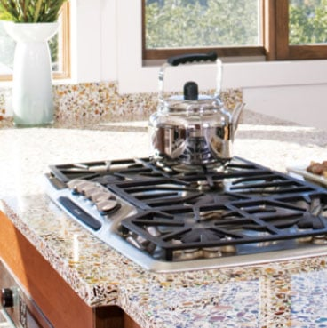 Vetrazzo Recycled Glass Surface   Call Greenhome Solutions At 888 447 9877  For A Quote Today!