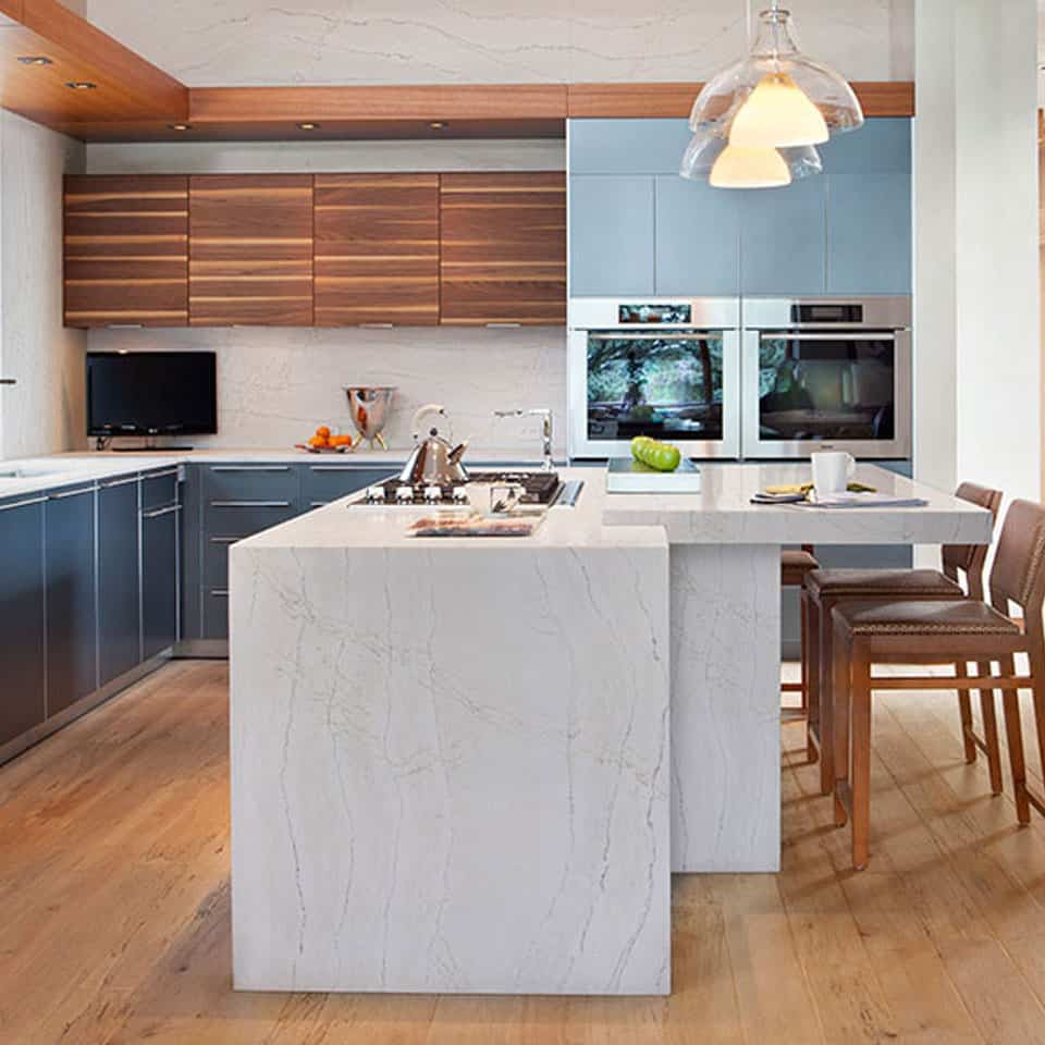 Natural Stone Kitchen Countertops: Cambria Natural Stone Surfaces: Green Building Products