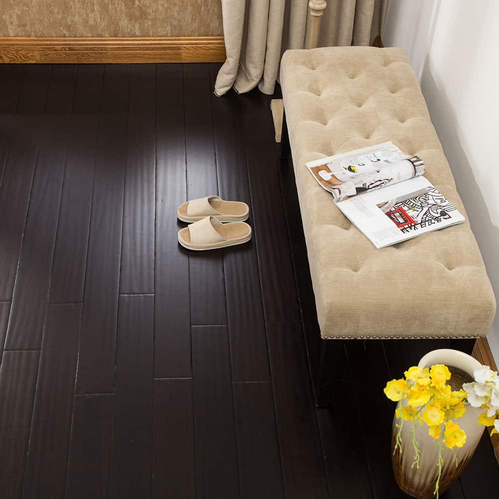 ECOFusion Solid Lock Bamboo Flooring Coffee Bean