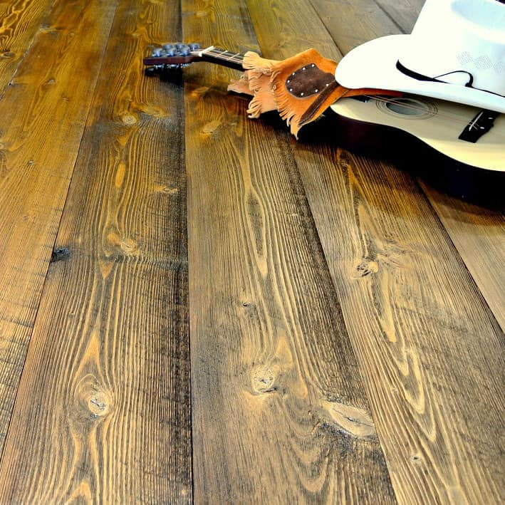 Fir Hardwood Floors Rustic