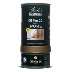 Rubio Monocoat Oil Plus 2C (Finish + Accelerator) - Pure (Clear)