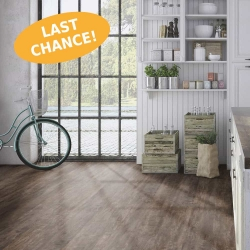 Wood WISE - 100% Waterproof Cork Flooring with a Wood Look in Farmhouse