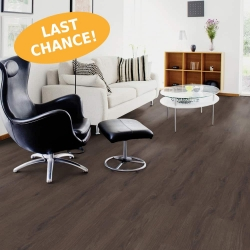 Wood WISE - 100% Waterproof Cork Flooring with a Wood Look in Dark Forest Oak