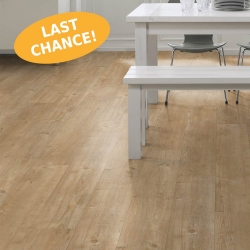 Wood WISE - 100% Waterproof Cork Flooring with a Wood Look in Mountain Oak