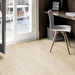 Wood WISE - 100% Waterproof Cork Flooring with a Wood Look in Cyber Oak