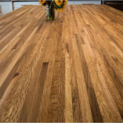 Oregon Tanoak Butcher Block Countertop - SIDE GRAIN