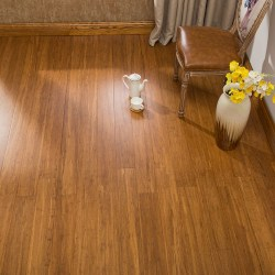 ECOfusion Engineered Woven Bamboo Flooring  |  Carbonized