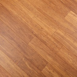ECOfusion Engineered Woven Bamboo Flooring  |  Light Carbonized