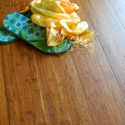 ECOfusion Engineered Woven Bamboo Flooring  |  Weathered Wood