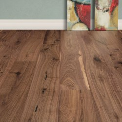 "Tesoro Woods Pacific Collection Rustic Walnut 7"" in Umber (formerly EcoTimber Walnut Natural)"