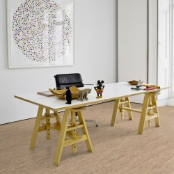 Wicanders Cork GO - sustainable floating cork flooring in Charm