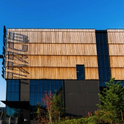 Kebony Character Cladding - The Burke Museum, Seattle WA, Photography by Ben Roberts