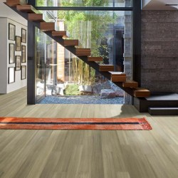 Teragren NEOTERA Xcora Wide-Plank Engineered Strand Woven Bamboo Flooring in POLLOCK