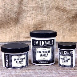 The Real Milk Paint Company | Soapstone Sealer & Wood Wax