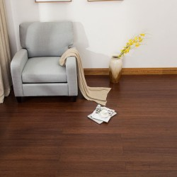 EcoFusion Solid Wide Plank Woven Bamboo Flooring | Java