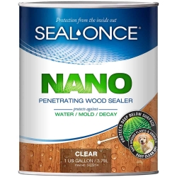 Seal-Once NANO GUARD Premium Wood Sealer (Formerly Total Wood Protection) at ghsproducts.com