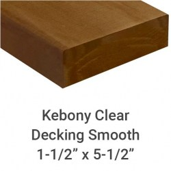 "Kebony Clear Decking 1"" x 6"" - Sample Board"