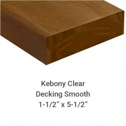 "Kebony Clear Decking 2"" x 6"" - Sample Board"