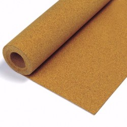 Natural Cork Underlayment Roll 1/8"